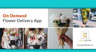 Uber for Flower Delivery App Development