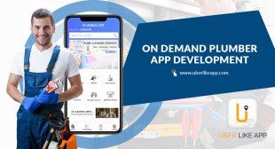 Plumber App Development- Plumbing Services at Doorstep