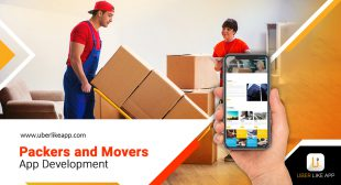 On-Demand Movers and Packers App Development