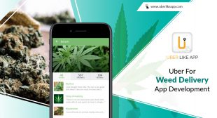 Uber for Weed Delivery App Development