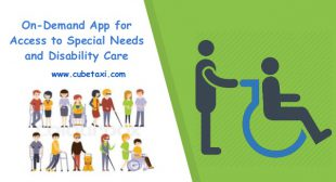 Build ride-sharing app for special needs and disability care