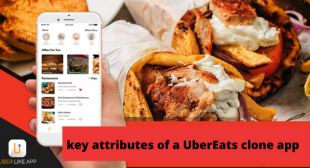 key attributes of a UberEats clone app