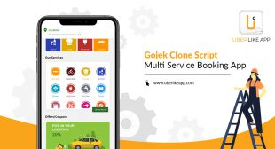 Launch a world-class app like Gojek for your multiple service business
