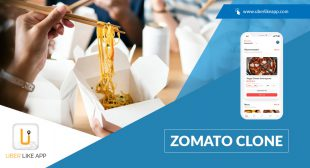 A simple workflow of a food delivery app like Zomato