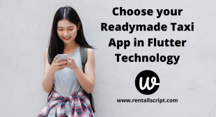 Choose your Readymade Taxi App in Flutter Technology
