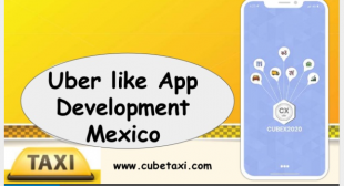 Uber like app development mexico