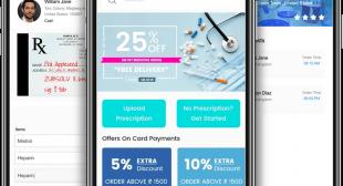 Uber For Pharmacy Delivery App Development
