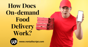 How Does On-demand Food Delivery Work?