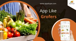 The workflow of Grocery delivery services app like Grofers