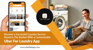 Establish a successful laundry service brand in the market with a customizable Uber for laundry app
