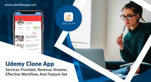 Udemy clone app – services provided, revenue streams, effective workflow, and feature-set
