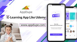 What are the perks of using an e-learning app like Udemy?