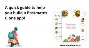A quick guide to help you build a Postmates Clone app!
