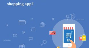 How to build an online shopping app?