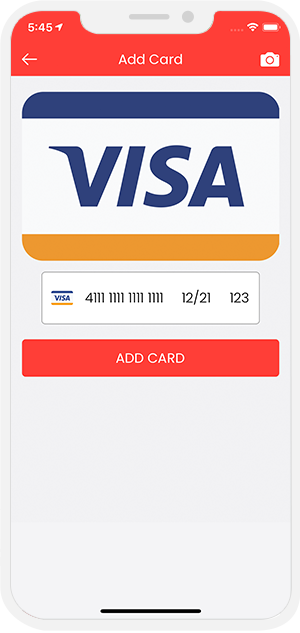 Credit Card Payment Flow for Restaurant / Store Orders