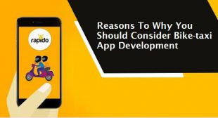 Reasons To Why You Should Consider Bike-taxi App Development
