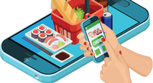 Communication Flow between Customer, Delivery Driver and Store – Grocery App Clone