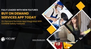 On Demand Services App Integrated With COVID19 Safety Features