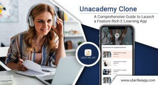 Build Your Online Learning Platform like Unacademy