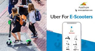 Gear Up To Start Your E-scooter Services Business By Developing An E-scooter App