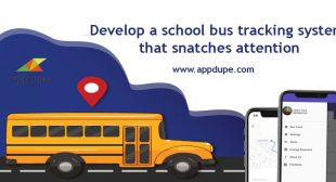 Develop a school bus tracking system that snatches attention