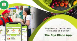 How to Build an Grocery Delivery App Like Dija?