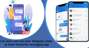 Let users call out your Telegram clone as their favourite messaging app