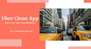 Uber Clone App: Start Your own Taxi Business