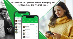 Bid Welcome To A Perfect Instant Messaging App By Launching The WeChat Clone |