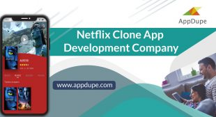 Netflix Clone App: Starting a Video Streaming App becomes easy