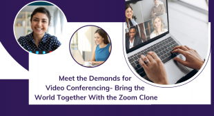 Zoom Clone – Develop the Robust Video Conferencing App