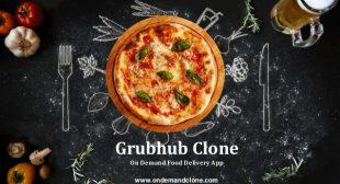 Grubhub Clone: On Demand Food Delivery App