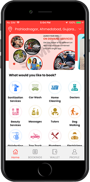 Build A Profitable & Efficient Home Service On-demand App With Labeek Clone