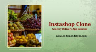 Instashop Clone :Grocery Delivery App Solution