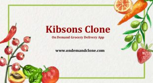 Kibsons Clone: On-Demand Grocery Delivery App