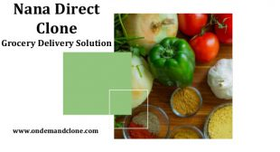 Nana Direct Clone:Grocery Delivery Solution