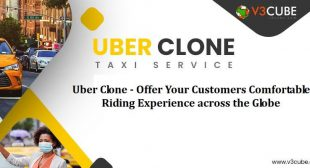 Uber Clone –  Offer Your Customers Comfortable Riding Experience Across The Globe