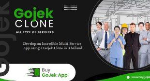 Develop an Incredible Multi-Service App using a Gojek Clone in Thailand