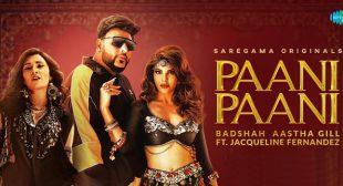 Paani Paani Lyrics – Badshah
