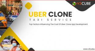 Top Factors Influencing The Cost Of Uber Clone App Development