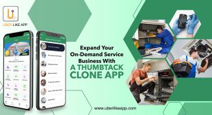 Launch an enticing Thumbtack Clone app for an on-demand business