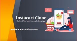 Instacart Clone Online White-label Grocery Delivery App