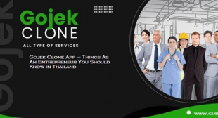 Gojek Clone App – Things As An Entrepreneur You Should Know in Thailand