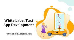 White Label Taxi App Development