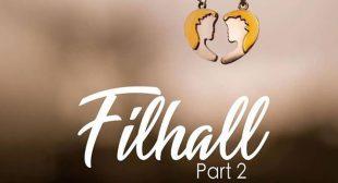 Filhaal 2 Mohabbat Lyrics