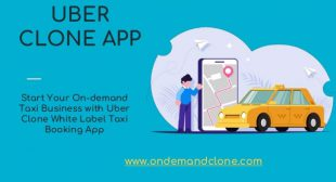 Uber Clone: On-Demand Taxi Booking App
