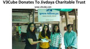 V3Cube Donates To Jivdaya Charitable Trust