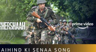 Jai Hind Ki Sena Lyrics – Shershaah