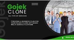 Creating a business plan for your Gojek Clone app based Multi service platform