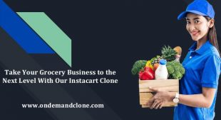 Take Your Grocery Business to the Next Level With Our Instacart Clone
